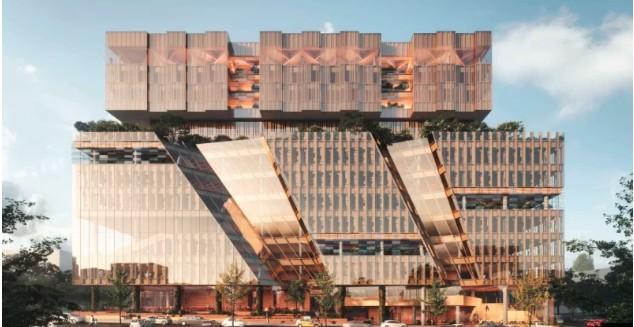 墨尔本商学院计划在Carlton新建一座12层的综合教学楼