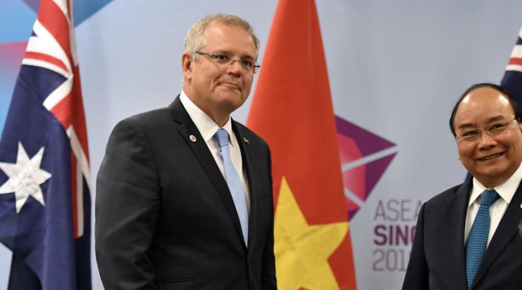 澳大利亚总理承诺将加强与越南的合作