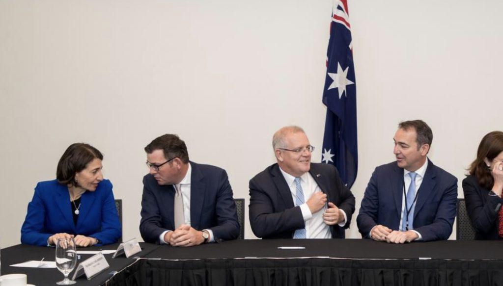 澳总理会见各州州长探讨基建项目进程 望推动经济复苏