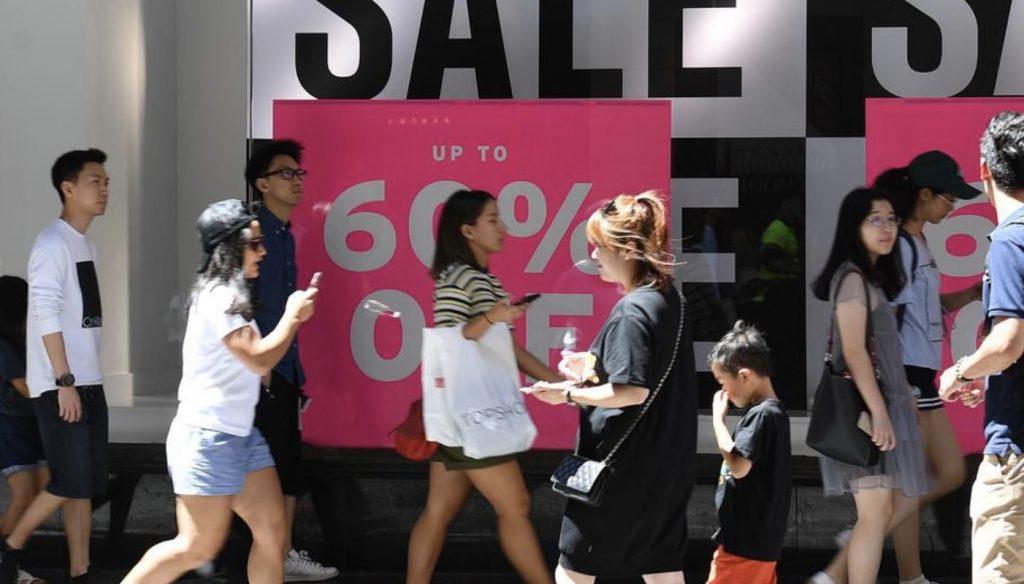 澳洲消费者信心连续5周下滑