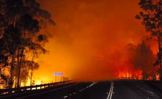 澳大利亚遭遇林火两人丧生