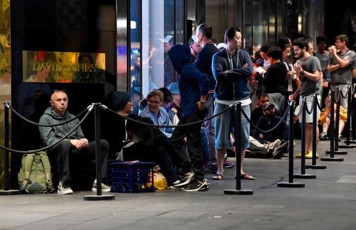 澳大利亚消费者涌入商店,礼盒日销售或破纪录