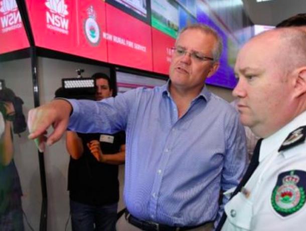澳洲总理宣布:为公务员作志愿消防员提供带薪休假津贴