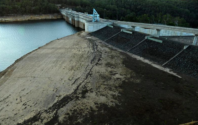 悉尼蓄水大坝的水位将下降到15年来最低处