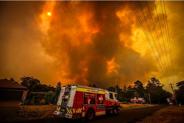 澳洲联邦政府 增派国防军助新州灭火
