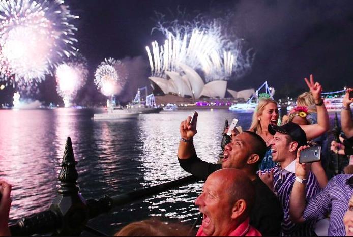 悉尼新年前夜烟花表演将按计划进行