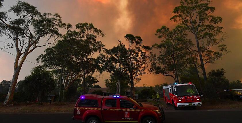 林火可能袭击悉尼西部郊区