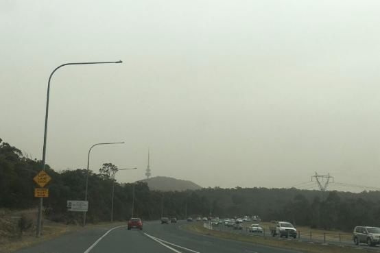 澳洲首都空气质量超危险水平十倍 世界最差