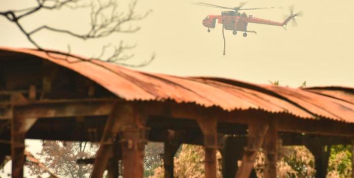 澳洲林火摧毁2变电站 悉尼电力受威胁