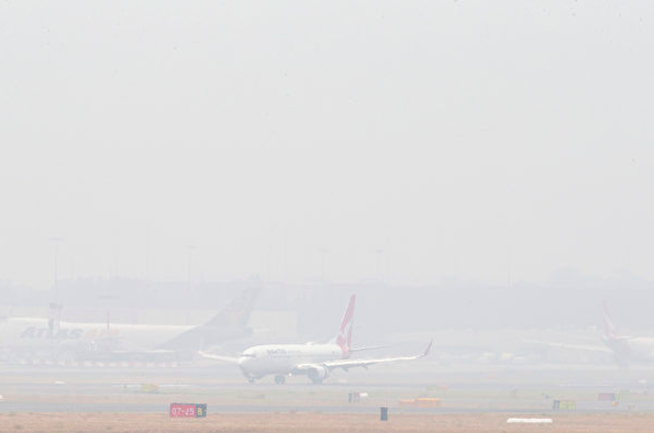 烟雾降低能见度 新州偏远地区航班被迫取消
