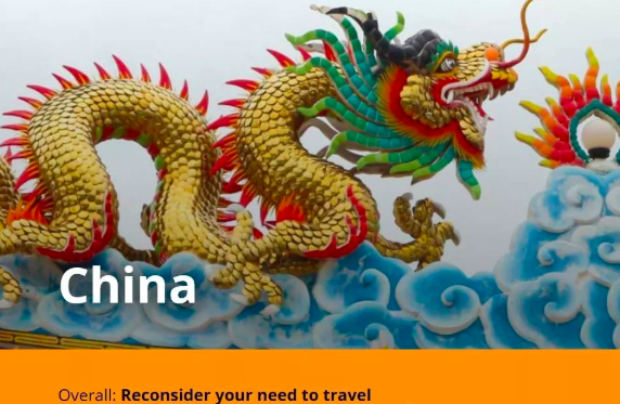 """月28日澳大利亚政府发布最新对华旅行建议"""""""