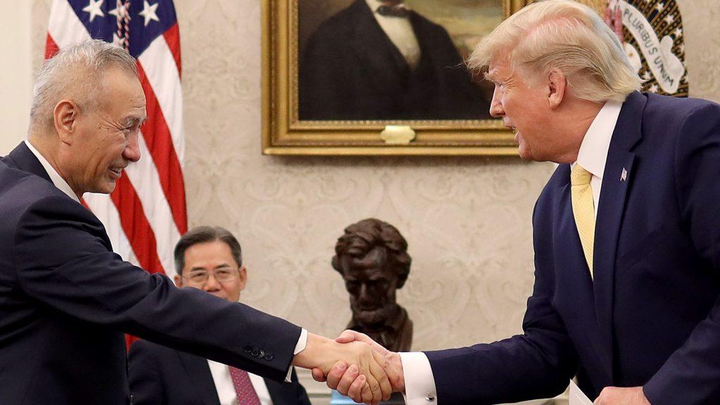 """快讯:中美第一阶段贸易协定成功签订,第二阶段将""""难于登天"""""""