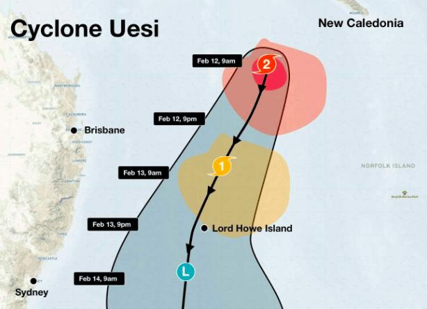 热带风暴迎面袭来 悉尼昆州准备迎接强降雨的暴击吧!
