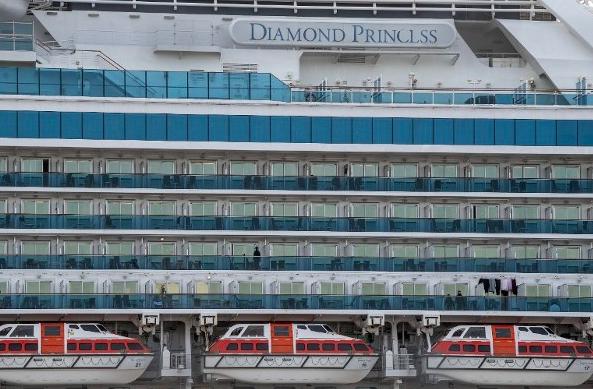钻石公主号撤离人员中又添两例阳性,将送去布里斯班治疗