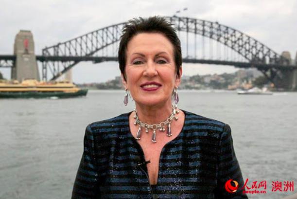 共抗疫情 悉尼市长:与武汉人民团结一致