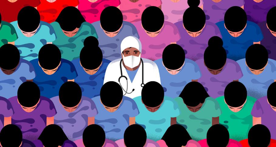 政府放宽20000护士学生的签证工作限制,应对百年一遇的疫情
