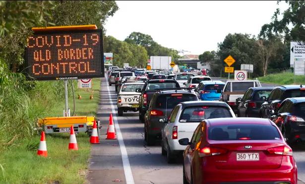 昆州新州边界101年来首次关闭