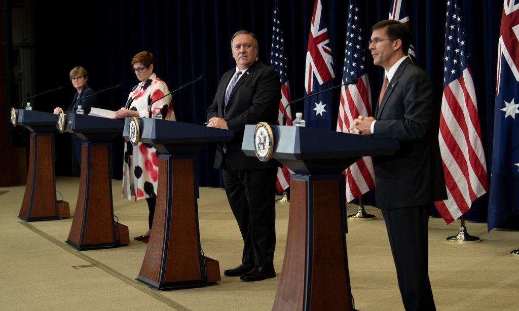 美澳高层华盛顿会晤,促膝长谈中国问题