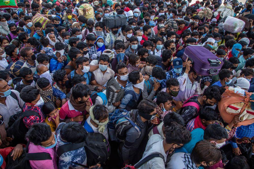 超英赶美?印度确诊500万人,成为第二重灾区