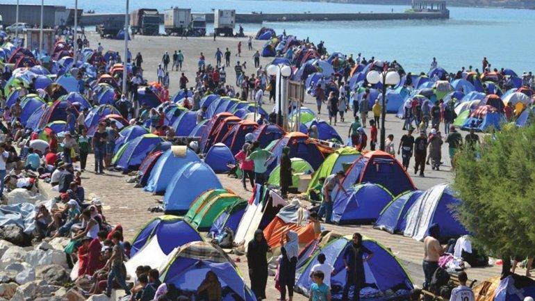 万人再次流离失所,德国将接收1500难民