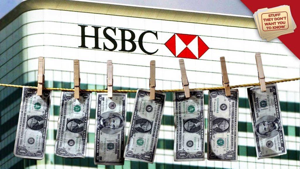 【重磅】汇丰、德银、摩根大通等银行涉嫌洗钱2万亿美元!
