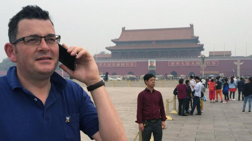 维州州长Daniel Andrews被要求解释为何与中国政府签署协议