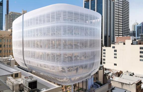 悉尼CBD大型写字楼成功封顶