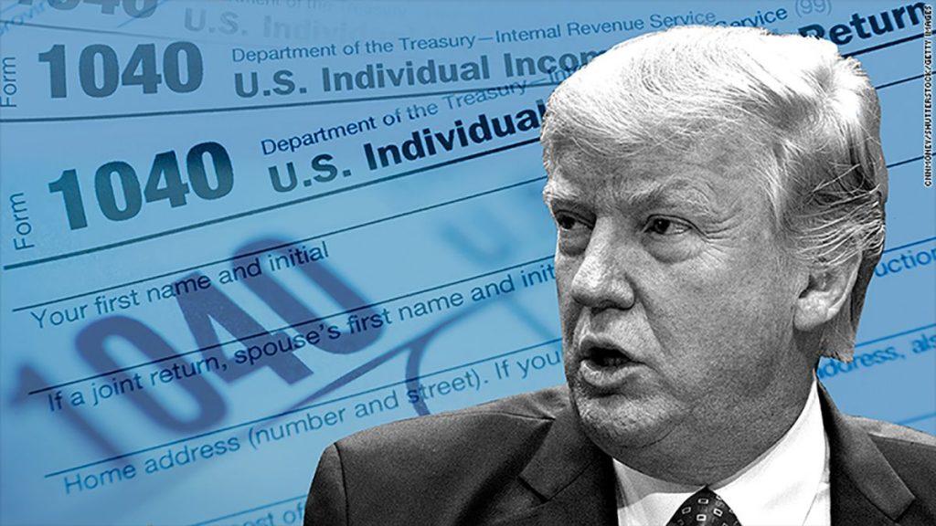 """最""""节俭""""的总统?特朗普15年缴税仅为750美元"""