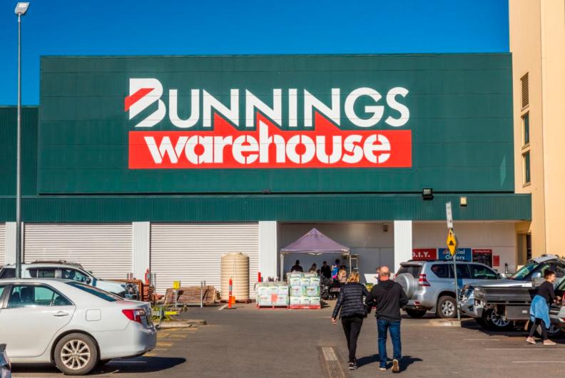"""月-10月期间,Bunnings销售额同比激增30.6%"""""""