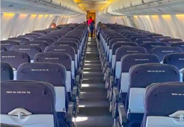 布里斯班-悉尼航班仅有6名乘客!州境动不动封锁害苦航空业