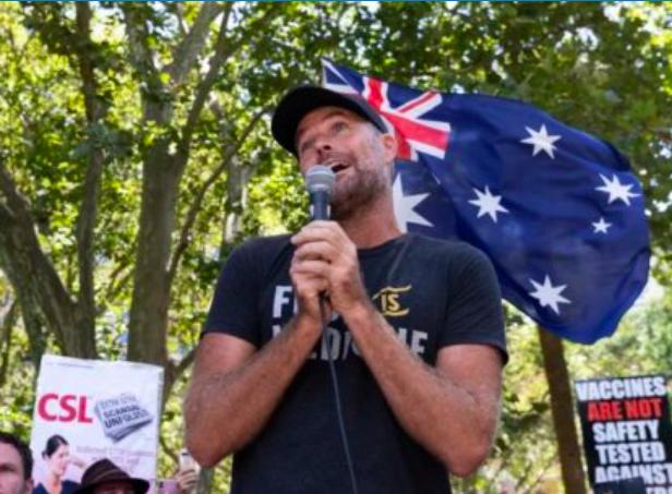 悉尼反Covid-19疫苗百万人大游行 现场却只到了数百人