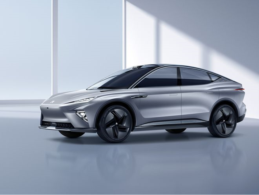 MG汽车发布ES33全新旗舰概念电动轿跑SUV