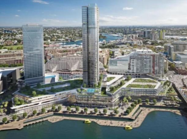 贝姬莲政府公开表态:支持争议不断的在Harbourside购物中心建公寓楼的计划