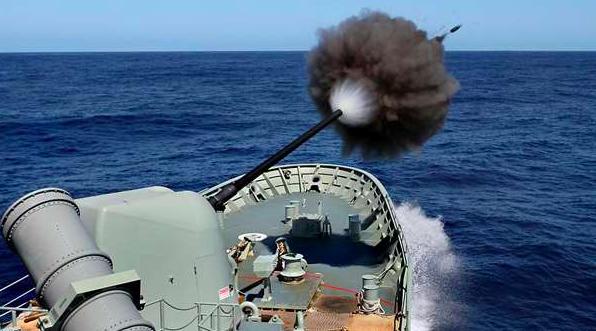 澳洲参加了由法国带领的海上军事演习