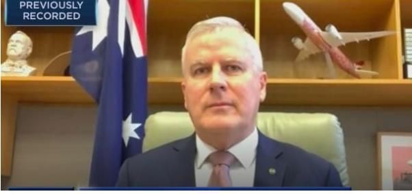 """""""中国是个大市场"""" 澳洲副总理:愿耐心修复对华关系,寻求友好合作"""