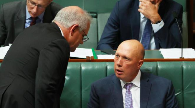 """莫里森:澳中两国存交战风险,认识不到这点很""""愚蠢"""""""