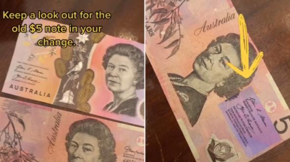 """澳元旧纸币可能很值钱"""""""