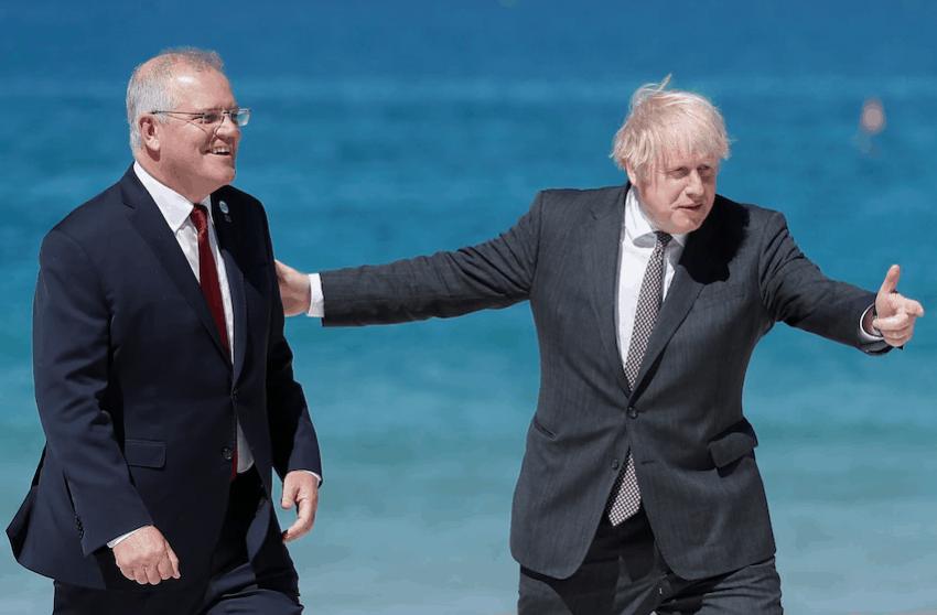 新的曙光!澳英原则上达成自由贸易协定