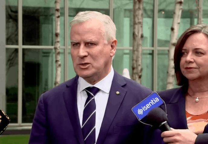 突发!澳洲副总理今天换人了!因性丑闻下台的他又回来了!
