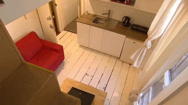 """悉尼百年""""微型""""公寓上市!售价近万,面积却仅有13平米"""