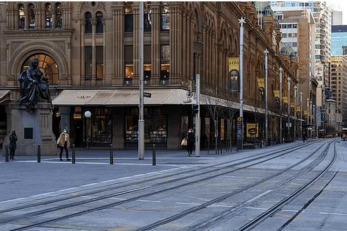 """悉尼""""封城""""或持续到9月份,澳洲恐将陷入经济衰退"""