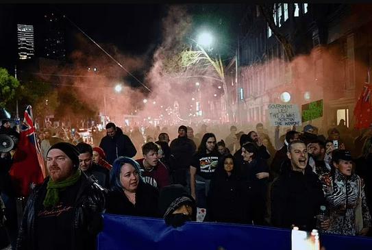 全澳10地将爆发反封锁游行,悉尼示威者周六上街抗议!警方警告:想清楚