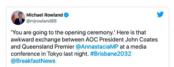 国际奥会副主席被指霸凌女州长 澳洲各界一片炮轰