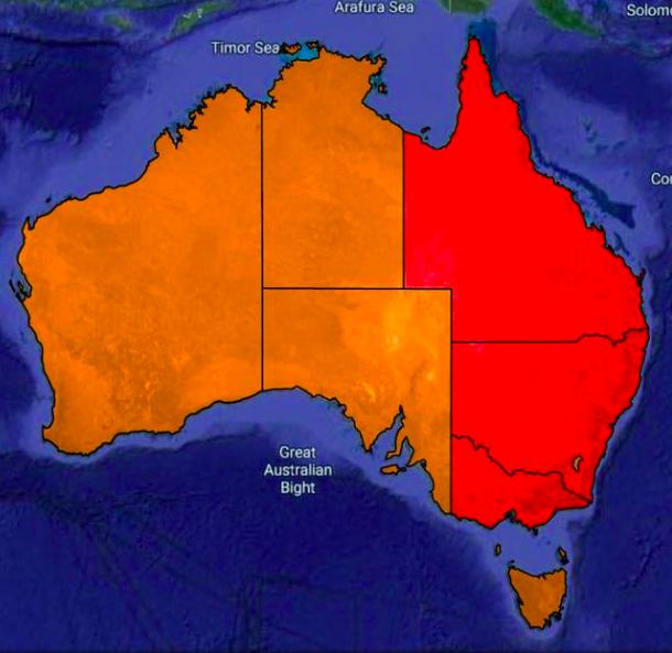 澳洲超过1500万人处于封锁之中