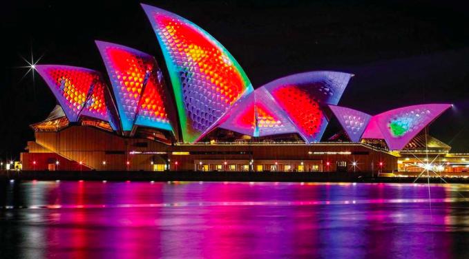因为新冠带来的持续不确定性 悉尼灯光节连续第二年被取消