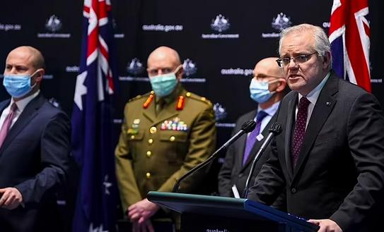 澳洲疫情持续恶化,莫里森再次向美国求助!吁拜登支援2600万剂辉瑞疫苗