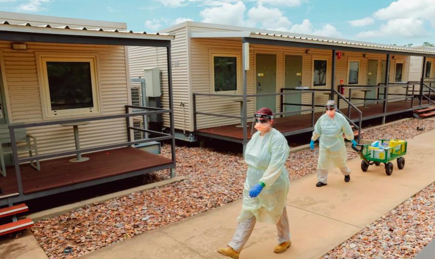 Howard Springs检疫中心预计将达到接纳海外旅客满负荷
