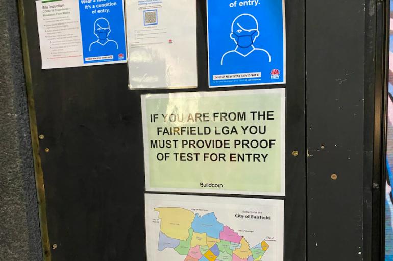 悉尼疫情重灾区的建筑工人可以去上班了!但有一些条件