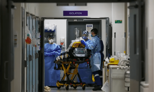 医生警告新州医院急诊室Covid病人会是ICU的五倍