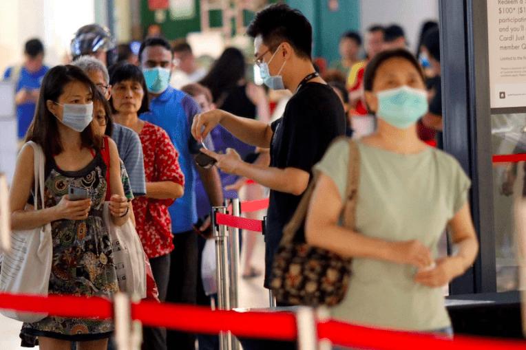 新加坡单日新增328例新冠新病例,创一年来的新高